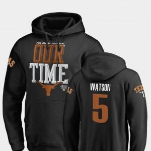Texas Longhorns Tre Watson Hoodie Men 2019 Sugar Bowl Bound Counter #5 Black