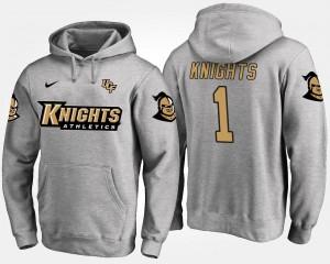 UCF Knights Hoodie #1 Mens No.1 Gray