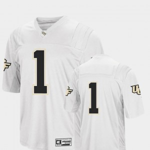 UCF Knights Jersey Colosseum Authentic College Football Men's White #1