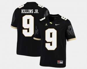 UCF Knights Adrian Killins Jr. Jersey #9 Black College Football For Men American Athletic Conference