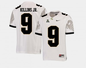 UCF Knights Adrian Killins Jr. Jersey White Men's #9 College Football American Athletic Conference