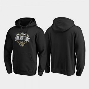 UCF Knights Hoodie Corner Black 2019 Gasparilla Bowl Champions Mens