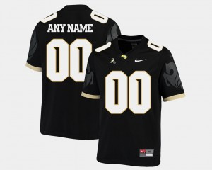 UCF Knights Custom Jersey American Athletic Conference #00 College Football Men's Black