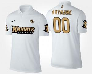 UCF Knights Custom Polo White #00 Men's