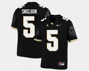 UCF Knights Dredrick Snelson Jersey Mens Black American Athletic Conference #5 College Football