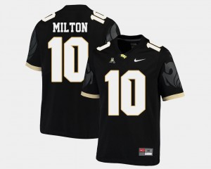 UCF Knights Mckenzie Milton Jersey American Athletic Conference College Football Black Mens #10