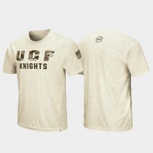 UCF Knights T-Shirt Desert Camo Oatmeal Men's OHT Military Appreciation