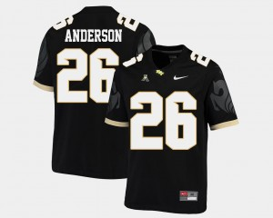 UCF Knights Otis Anderson Jersey American Athletic Conference College Football #26 Mens Black