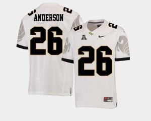 UCF Knights Otis Anderson Jersey #26 White College Football For Men's American Athletic Conference
