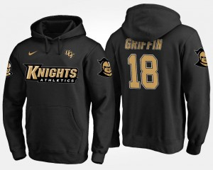 UCF Knights Shaquem Griffin Hoodie #18 Black Men