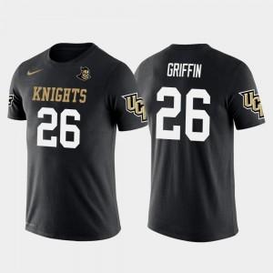 UCF Knights Shaquill Griffin T-Shirt Men's #26 Future Stars Seattle Seahawks Football Black