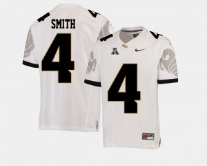 UCF Knights Tre'Quan Smith Jersey College Football White Men #4 American Athletic Conference