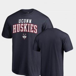 UConn Huskies T-Shirt Navy Square Up Men