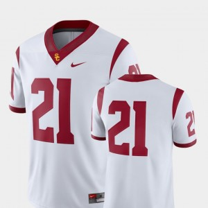 USC Trojans Jersey For Men's #21 2018 Game College Football White