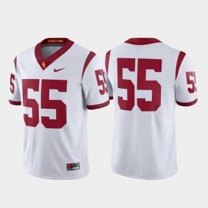 USC Trojans Jersey White Limited Football Men's #55