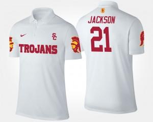 USC Trojans Adoree' Jackson Polo White Men's #21
