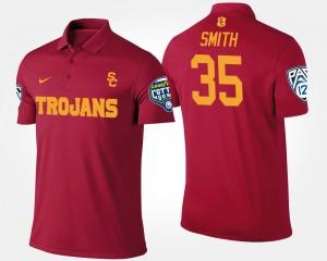 USC Trojans Cameron Smith Polo For Men Bowl Game #35 Pac-12 Conference Cotton Bowl Cardinal