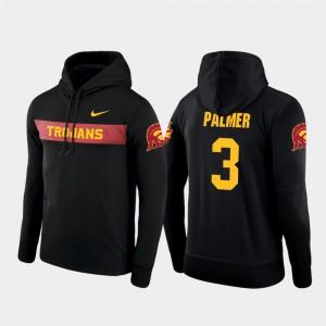USC Trojans Carson Palmer Hoodie Sideline Seismic #3 Black Football Performance Mens