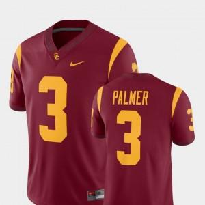 USC Trojans Carson Palmer Jersey Alumni Player #3 For Men Cardinal College Football