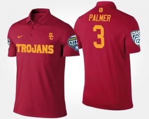 USC Trojans Carson Palmer Polo Cardinal Mens #3 Bowl Game Pac-12 Conference Cotton Bowl