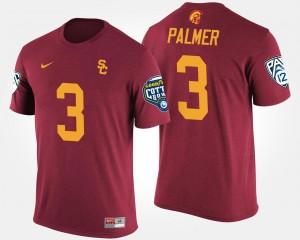 USC Trojans Carson Palmer T-Shirt Pac-12 Conference Cotton Bowl #3 Cardinal Bowl Game Men's
