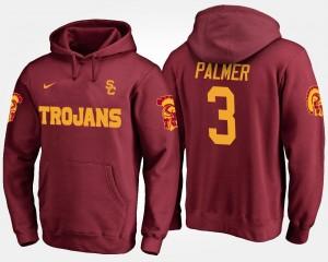 USC Trojans Carson Palmer Hoodie Men #3 Cardinal