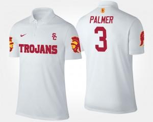 USC Trojans Carson Palmer Polo White Mens #3