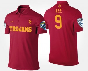 USC Trojans Marqise Lee Polo Cardinal For Men's Bowl Game #9 Pac-12 Conference Cotton Bowl