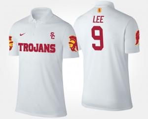 USC Trojans Marqise Lee Polo White #9 For Men