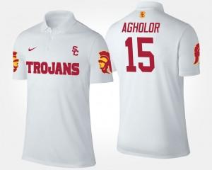 USC Trojans Nelson Agholor Polo Men's #15 White