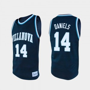 Villanova Wildcats Caleb Daniels Jersey College Basketball Alumni For Men Navy #14