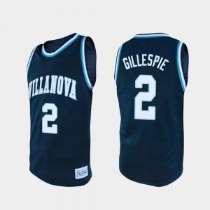 Villanova Wildcats Collin Gillespie Jersey Navy Alumni For Men #2 College Basketball