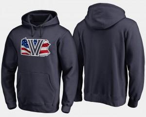 Villanova Wildcats Hoodie Big & Tall Navy Banner State For Men