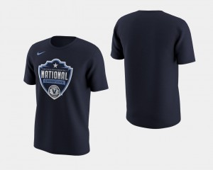 Villanova Wildcats T-Shirt Navy Men's 2018 Celebration II Basketball National Champions