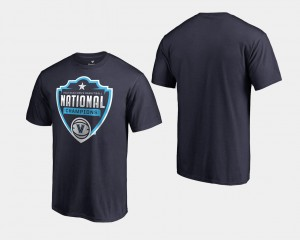 Villanova Wildcats T-Shirt 2018 Cut Big & Tall Basketball National Champions Navy Men
