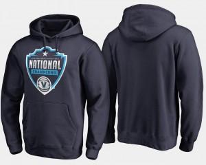 Villanova Wildcats Hoodie Men Basketball National Champions 2018 Cut Navy