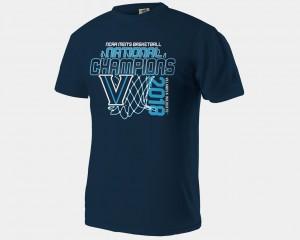 Villanova Wildcats T-Shirt Navy Basketball National Champions For Men 2018 Net