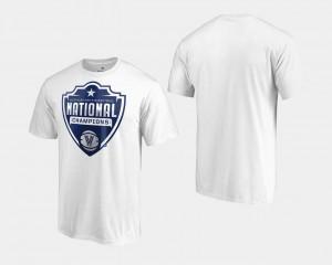 Villanova Wildcats T-Shirt For Men's Basketball National Champions White 2018 Cut