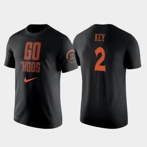 Virginia Cavaliers Braxton Key T-Shirt Black College Basketball #2 2 Hit Performance For Men's