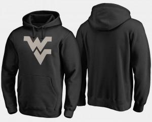 West Virginia Mountaineers Hoodie Camo Cloak Big & Tall Black Mens