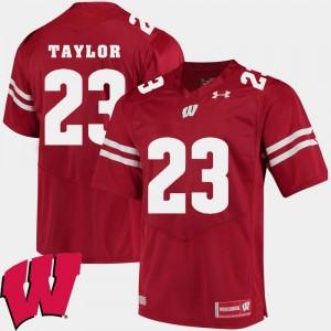 Wisconsin Badgers Jonathan Taylor Jersey 2018 NCAA Men's Alumni Football Game Red #23