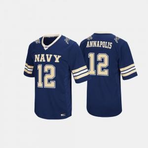 Navy Midshipmen Jersey #12 For Men Navy Hail Mary II
