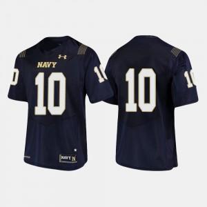 Navy Midshipmen Malcolm Perry Jersey College Football #10 Navy Men's