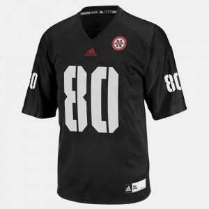 Nebraska Cornhuskers Kenny Bell Jersey #80 College Football Black For Men's