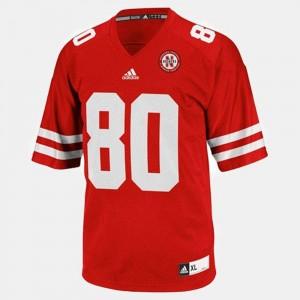 Nebraska Cornhuskers Kenny Bell Jersey #80 Red College Football Mens