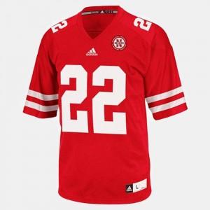 Nebraska Cornhuskers Rex Burkhead Jersey Red College Football #22 Men's