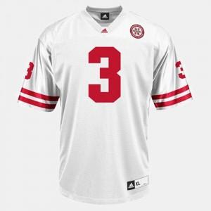 Nebraska Cornhuskers Taylor Martinez Jersey #3 College Football Mens White