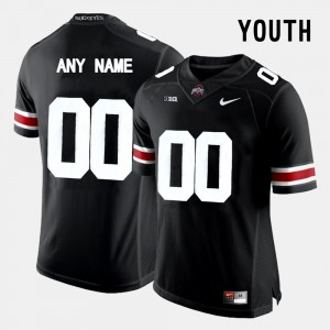 Ohio State Buckeyes Customized Jersey #00 Kids College Limited Football Black