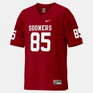 Oklahoma Sooners Ryan Broyles Jersey Youth Red #85 College Football