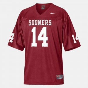 Oklahoma Sooners Sam Bradford Jersey For Men's #14 College Football Red